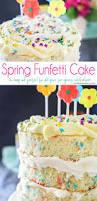 spring funfetti cake kleinworth u0026 co