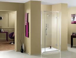 aquadart inline 900mm recess hinged shower door