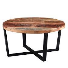 reclaimed wood round coffee table coastal reclaimed wood round coffee table furniture123