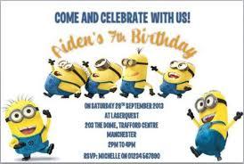 minion party invitations u2013 gangcraft net