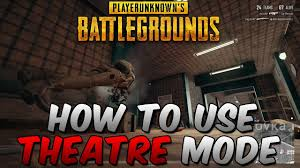 pubg 3d replay how to use pubg replay theatre mode youtube