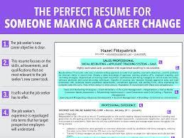 Maintenance Objective Resume Resume Career Change Resume Sample