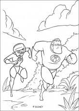incredibles coloring pages disney kids u0027 games coloring
