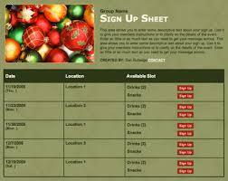 Printable Thanksgiving Potluck Sign Up Sheet Template 15 Potluck Tips