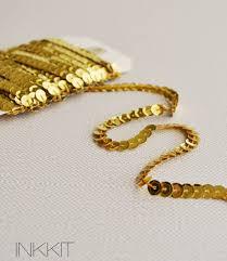sequin ribbon bulk gold sequin ribbon 25 yards 11 00 via etsy gold