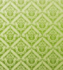 decorative seamless floral royal green ornament stock