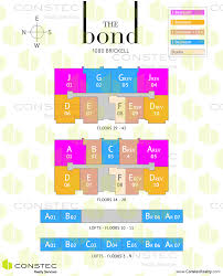 Site Floor Plan by The Bond At Brickell Floor Plans