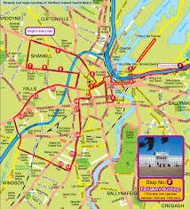 Northern Ireland Map Tour Of Belfast Northern Ireland