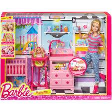 Barbie Kitchen Set For Kids Barbie Style Barbie Doll Walmart Com