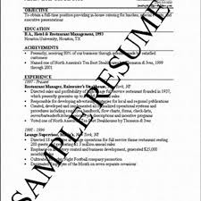 the perfect resume template chefs resume chef resume sample chef