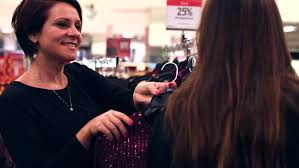 hair stylist in portland for prom young mother and beautiful daughter are shopping together for the
