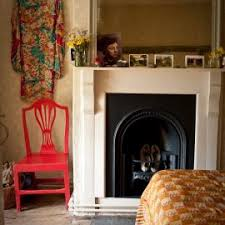 interior decoration with terracotta wall paint colour schemes for