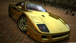 cars ferrari gold ferrari f40 gold 4k hd desktop wallpaper for 4k ultra hd tv