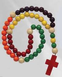children s rosary childrens wood rosary multicolor from catholic faith store 14