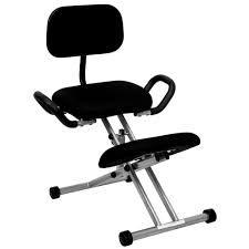 furniture appealing ergonomic office chairs depot kneeling chair