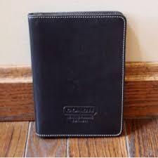 black leather photo album 78 coach accessories coach black leather photo album from