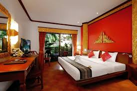 chambre thailandaise hotel kata palm resort 4 ch de luxe poolview phuket thailande