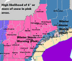 Snowfall Totals Map Heavy Snow Heading For Maine U0027s Ski Areas Much Less Expected For