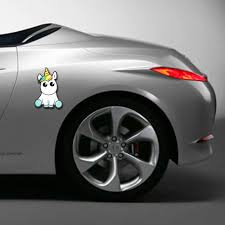 cartoon sports car 1 pcs new lovely unicorn car sticker cartoon window decal vinyl