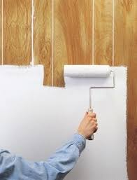 painted wood walls 4 popular wood paneling cover up ideas secret tips