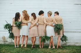 bridesmaids inc neutral bridesmaids dresses glitter inc glitter inc