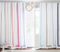 Light Pink Blackout Curtains Harper Blackout Curtain Pottery Barn Kids