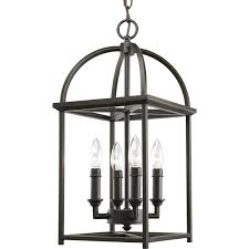 Lantern Chandelier For Dining Room by Progress Lighting P3884 20 4 Light Piedmont Foyer Lantern Antique