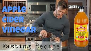 apple cider vinegar drink recipe for fasting thomas delauer youtube