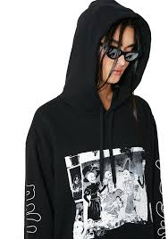 cheap monday skull party pullover hoodie dolls kill