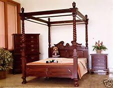 schlafzimmer im kolonialstil möbel im kolonialstil aus walnuss fürs schlafzimmer ebay