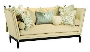 exposed wood frame sofa simona sofa marge carson