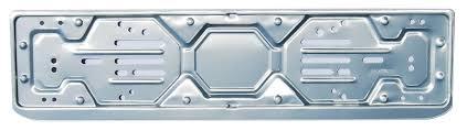 porta targa auto number plate holders po