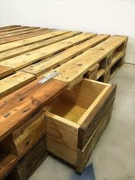 Diy Pallet Bed With Storage by The 25 Best Euro Pallets Ideas On Pinterest Euro Pallet Size