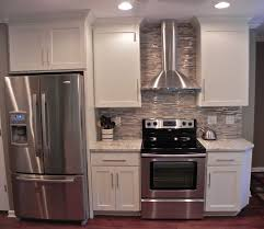 Kitchens Without Cabinets Kitchen How To Install A Tile Backsplash Without Thinset Or Mastic