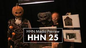 halloween horror nights 25 media preview youtube
