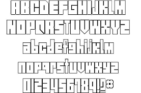 street blocks font by ryan nolan fontriver