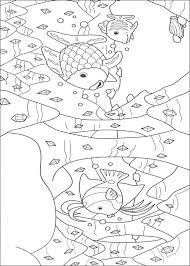 rainbow fish coloring pages diamonds in the deep ocean coloringstar