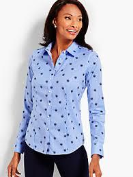 dress u0026 button down shirts for women talbots