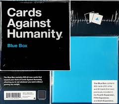 cards against humanity expansion new cards against humanity blue and green boxes