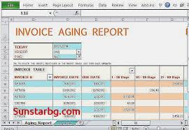 aging report template invoice template for keep track of invoices unique rental