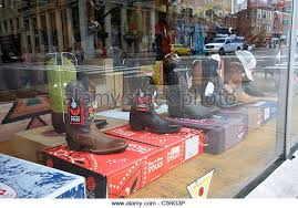 shop boots usa boots store front stock photos boots store front stock images