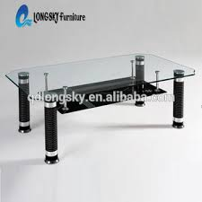 old glass table ls ls 1010 glass top center table design wholesale modern coffee table