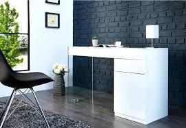 bureau verre design design d intérieur bureau design noir laque blanc laquac et verre