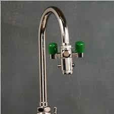 Faucet Mounted Eyewash Station Opti Klens Le Eyewash W Eliminator Valve Faucet Eyewash For