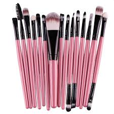 15 pcs eye shadow foundation makeup brushes u2013 eye opener deals