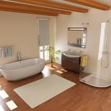 4 bathroom floor alternatives to classic tile floor coverings