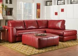 The  Best Red Leather Sectional Ideas On Pinterest Sofa For - Red leather living room set
