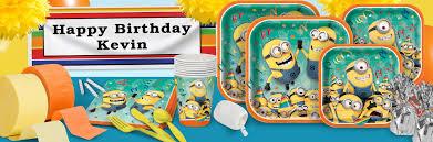 Halloween Birthday Party Supplies Minion Party Supplies U0026 Minion Party Decorations Shindigz