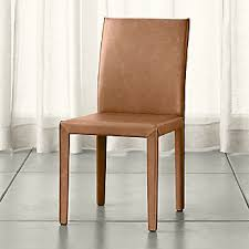 leather dining room chair shop dining chairs kitchen chairs crate and barrel