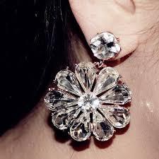 big diamond earrings fashion statement stud statement earrings big size diamond